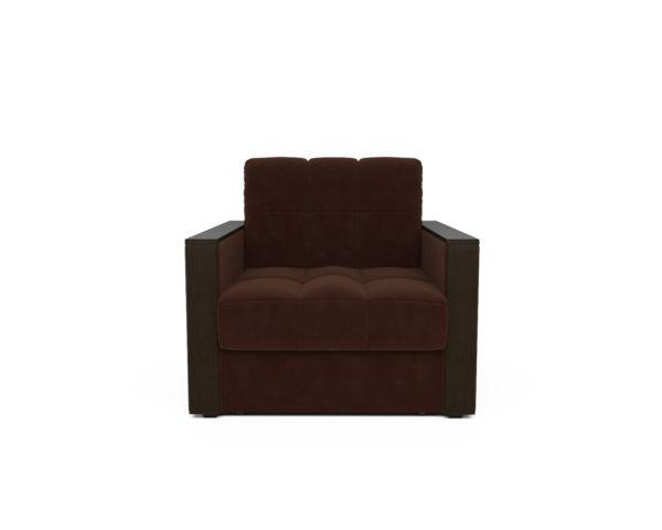 Кресло-кровать Даллас  (коричневый - Luna 092)