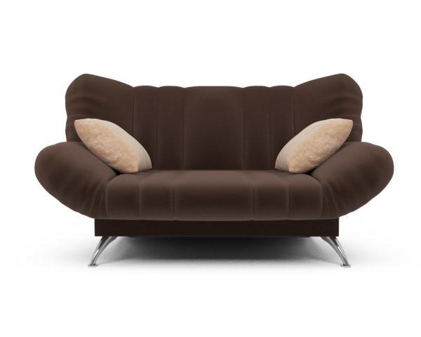 Прямой диван Голд (кордрой коричневый)