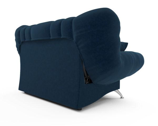 Прямой диван Голд (темно-синий - Luna 034)