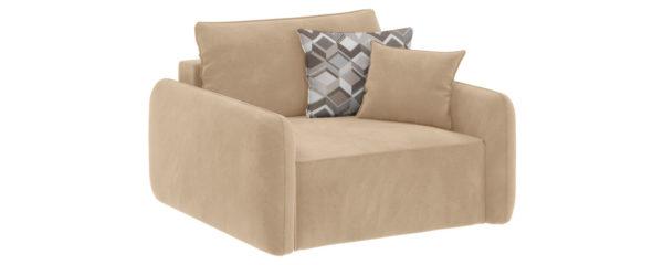 Модульный диван Портленд Soft песочный (Вел-флок)