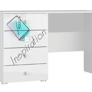Письменный стол Мелисса (белый)