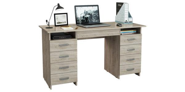 Письменный стол Харви вариант №6 (дуб сонома)