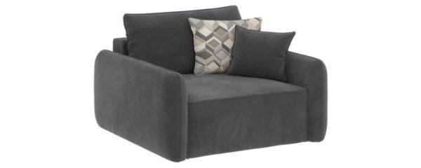 Модульный диван Портленд Premier серый (Микровелюр)