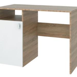 Письменный стол Лакки (дуб сонома/белый)